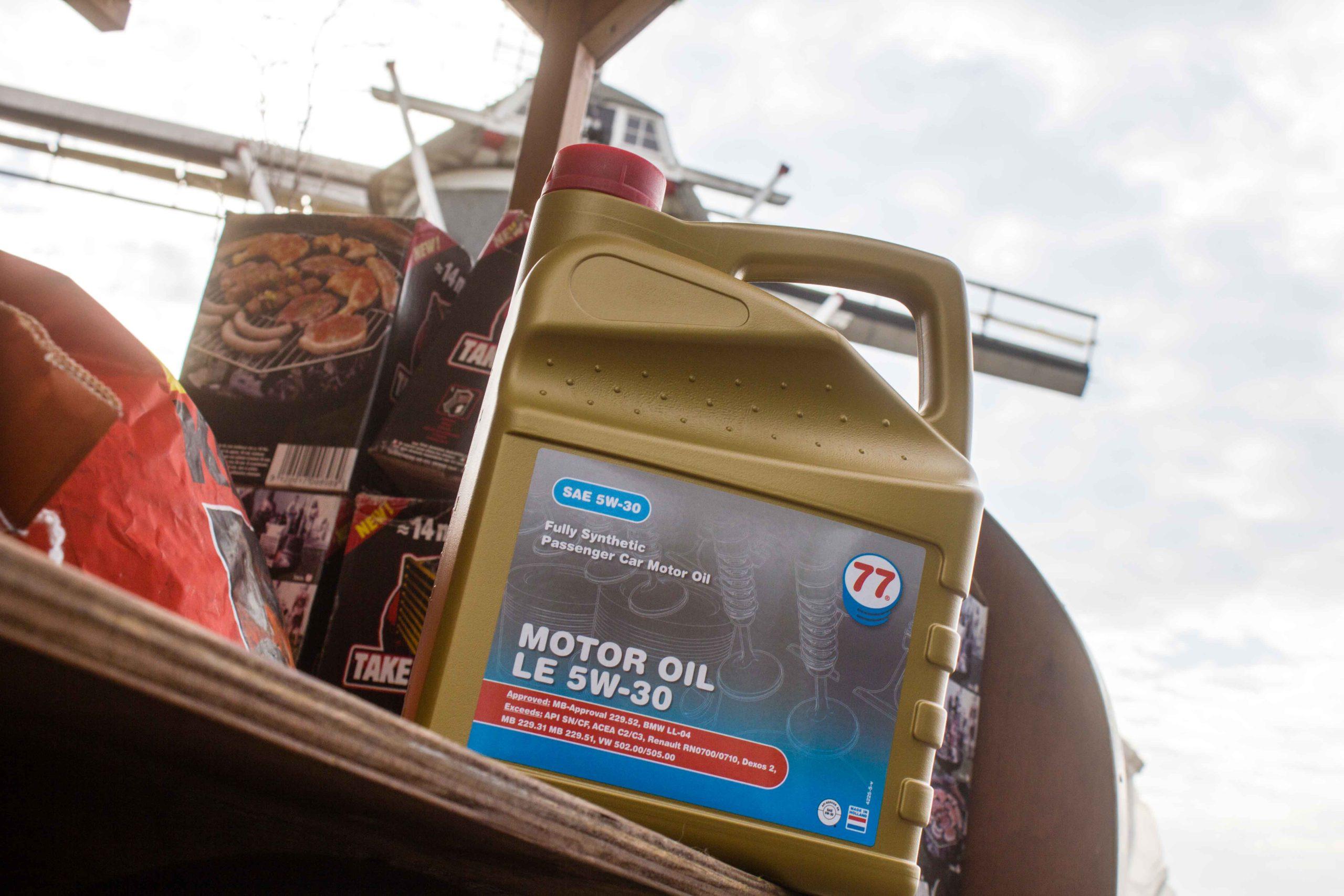 Smeerolie - Heinen brandstoffen (1)